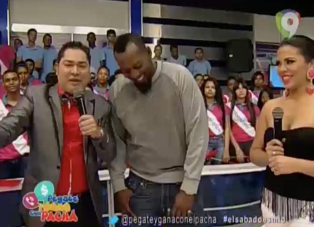 Vladimir Guerrero Llega A Pégate Y Gana Con El Pacha #Video
