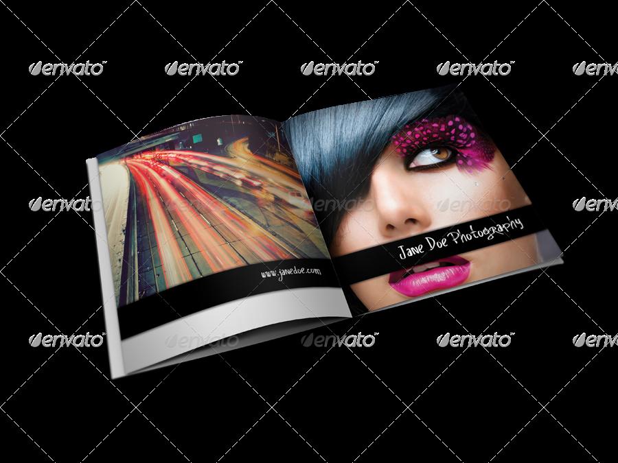 Square Photo Album & Brochure