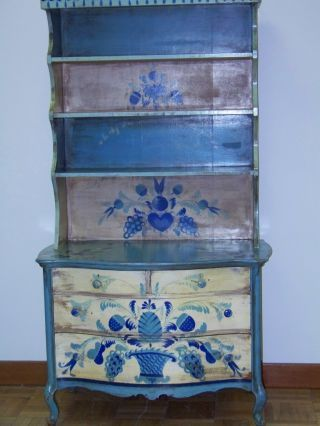 Furniture Cabinets Cupboards Antiques Browser Hand Painted Furniture Art Furniture Art Cabinet