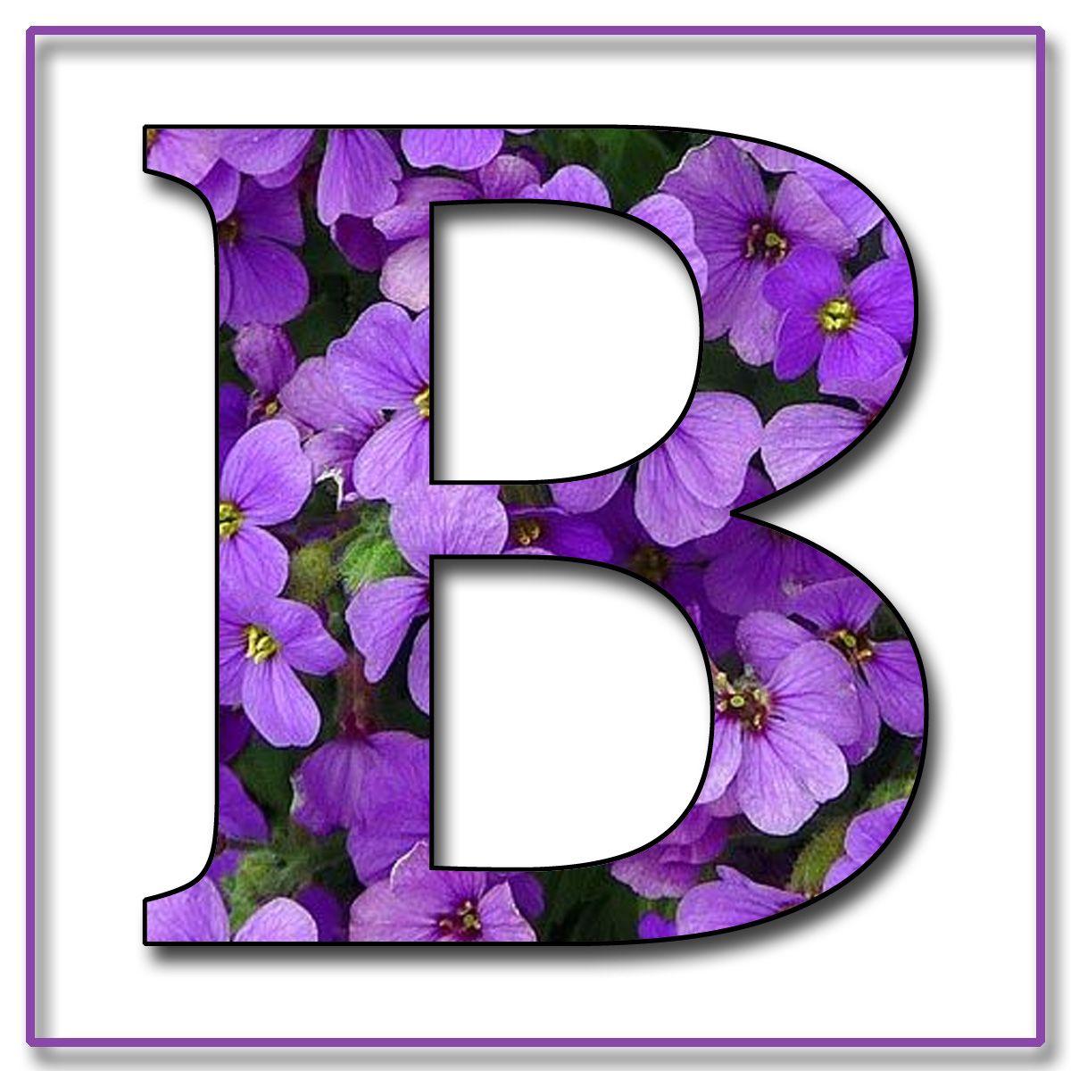 How to scrapbook letters - Granny Enchanted S Blog Purple Flowers Free Scrapbook Alphabet Letters