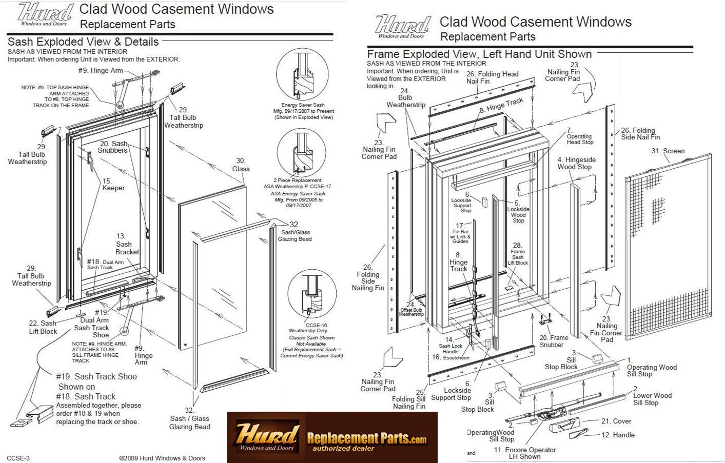 Image Result For Parts Of A Sliding Window Casement