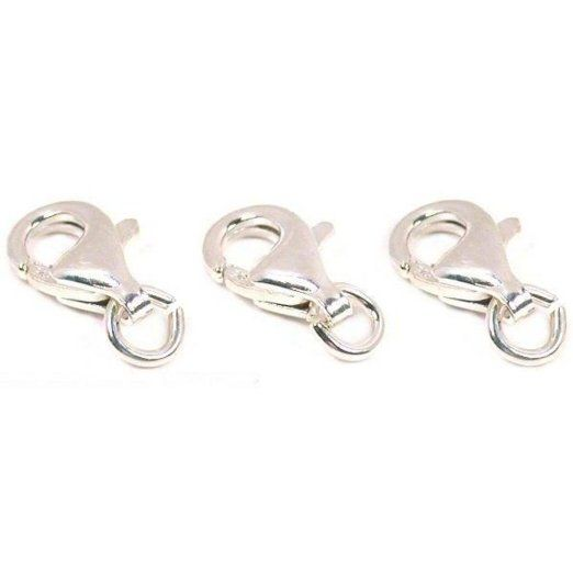 Beading & Jewelry Making Yueton Curved Lobster Clasps-100pcs ...