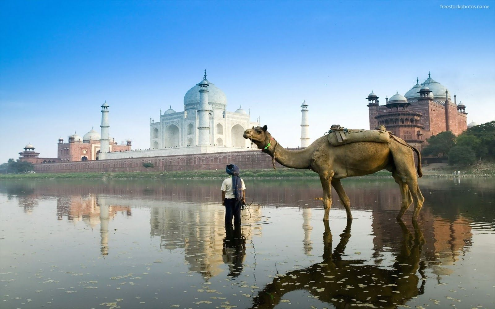 Viewing Taj Mahal From A Different Angle I Love India Pinterest