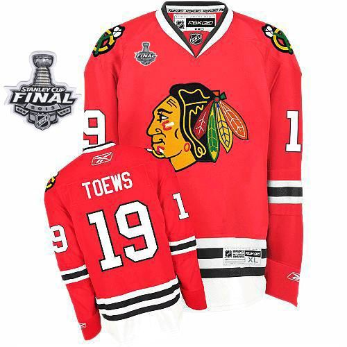 Jonathan Toews Jersey - Buy 100% official Reebok Jonathan Toews Men s  Premier Stanley Cup Finals Red Jersey NHL Chicago Blackhawks  19 Home Free  Shipping. f64eb5d47