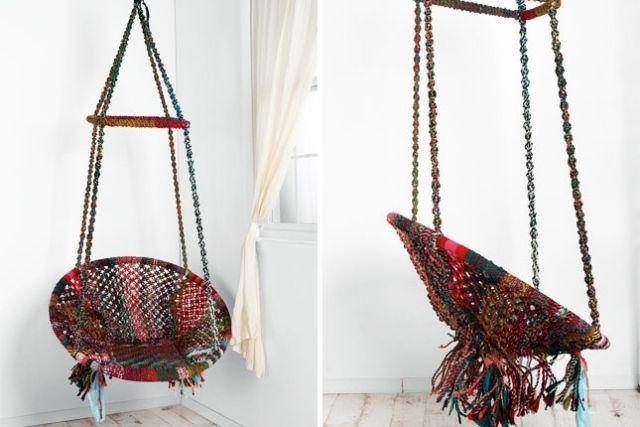 hängesessel selber bauen columpios y sillas colgantes para el jardín -  ideas