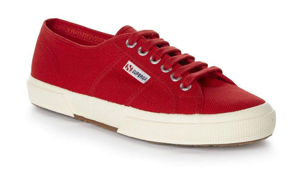 Superga Cotu Classic Red Sneakers Sz