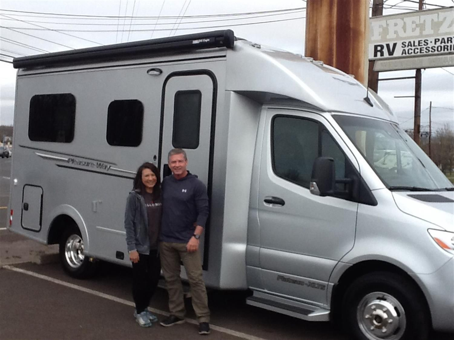 Timothy We Hope You Enjoy Your New 2020 Pleasure Way Plateau Congratulations And Best Wis Pleasure Way Congratulations And Best Wishes Recreational Vehicles