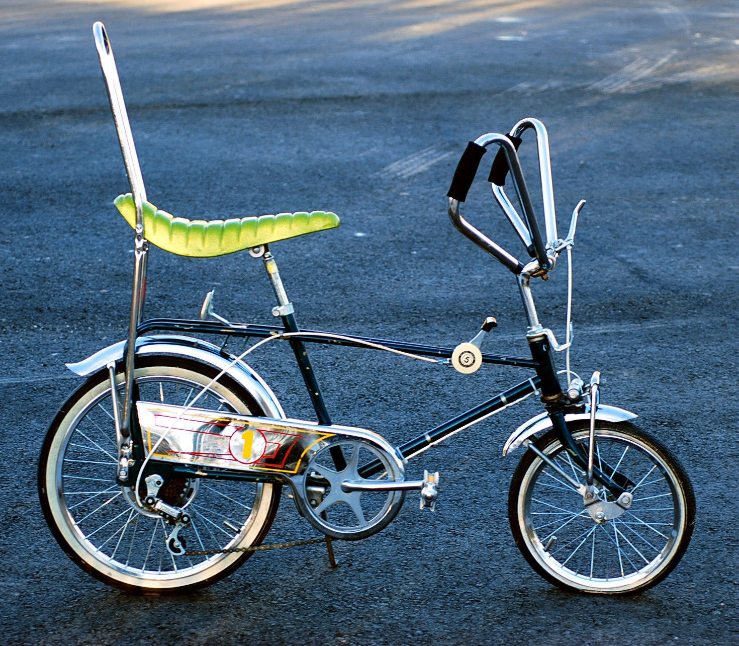 60s 70s Murray Banana Seat Bike Chopper 5speed Disc Brake