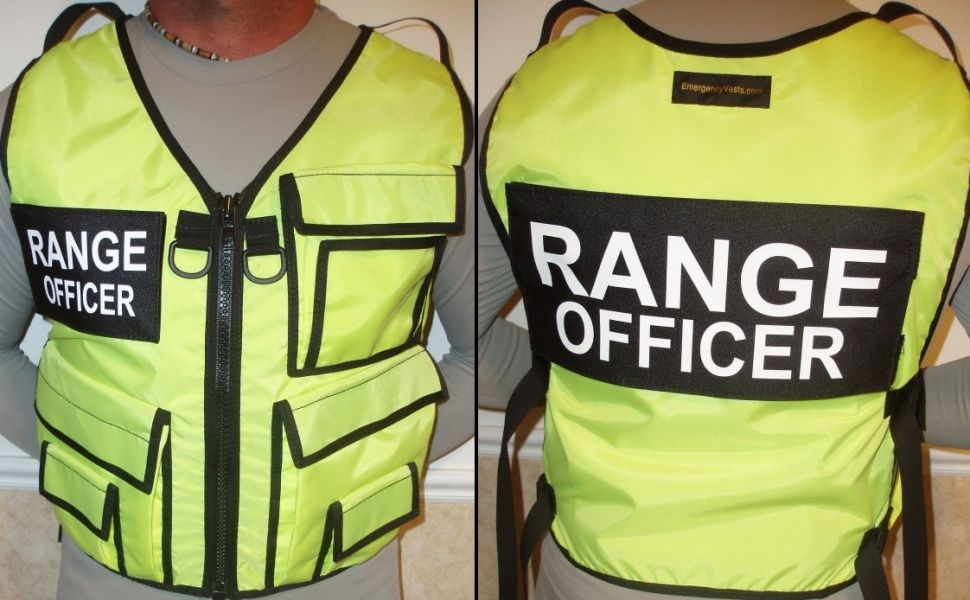 Range Office Safety Vest by This bright