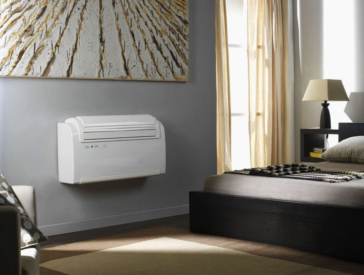 White Air Conditioning Split In Interesting Interior Home Goods
