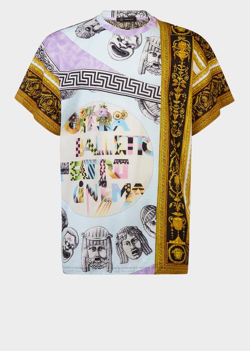5d883363b0ce3 VERSACE Cornici Balletto Print T-Shirt.  versace  cloth