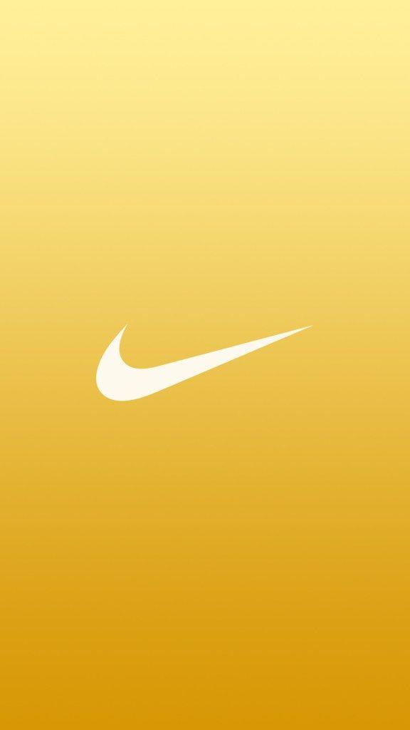 nike logo gold iphone wallpaper ruli pinterest nike