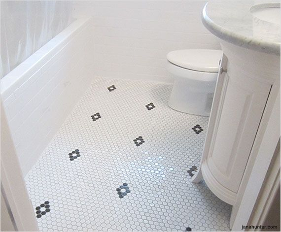 17 best images about dream home flooring on  hexagons bathroom  updates and brick flooring. Black And White Bathroom Floors  17 Best Images About Black N