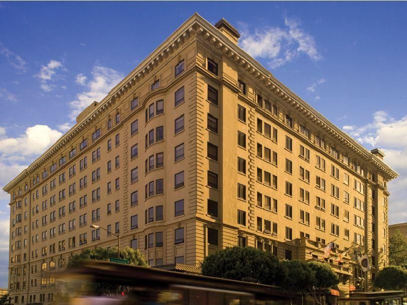 San Francisco Ca Stanford Court Hotel United States North America The