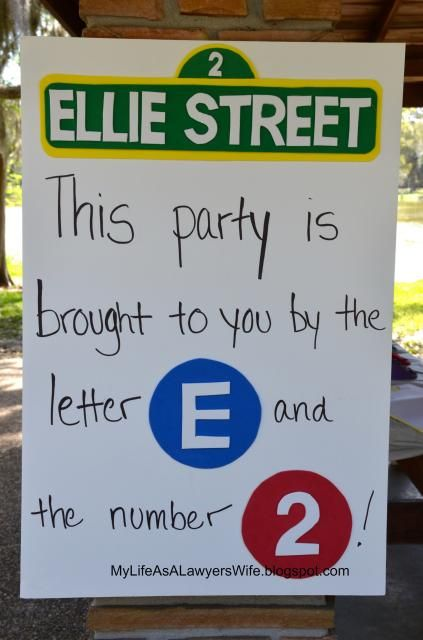 my life as a lawyer s wife ellie s sesame street 2nd birthday party