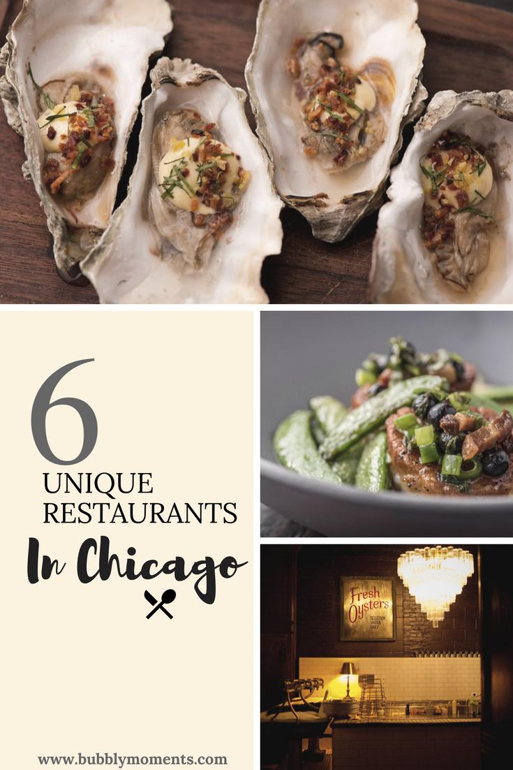 Unique Restaurants in Chicago Chicago restaurants