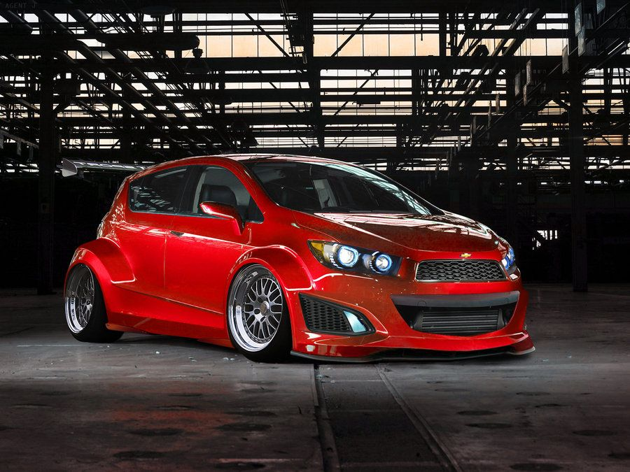 Chevy Aveo Rs By Obsidianreaper On Deviantart Chevy Sonic