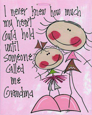 Photo: The sweetest thing youve ever heard is when they utter your name or call you grandma/grandpa!    LIKE to say Amen to that! :)