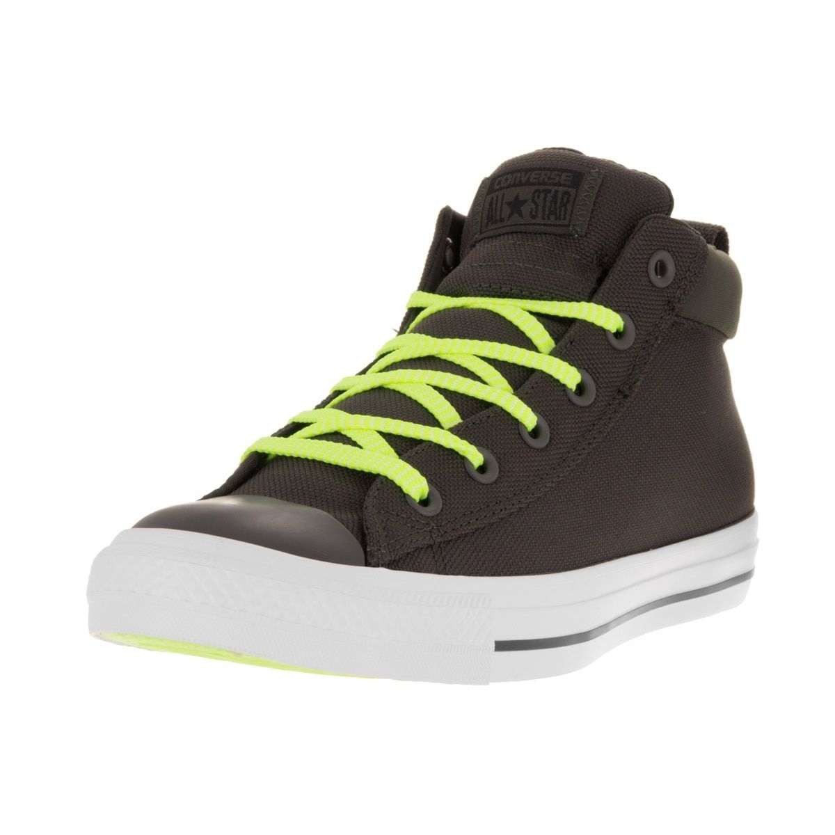 58bb5f4e23e0 Converse Unisex Chuck Taylor All Star Street Mid Cast Iron Wh Casual Shoe