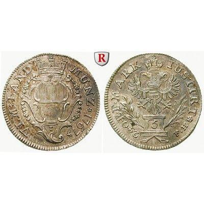 Ulm, Reichsstadt, 5 Kreuzer 1767, vz+: 5 Kreuzer 1767 Augsburg. Mit Mauerkrone verzierter Stadtschild / Doppeladler auf Postament.… #coins