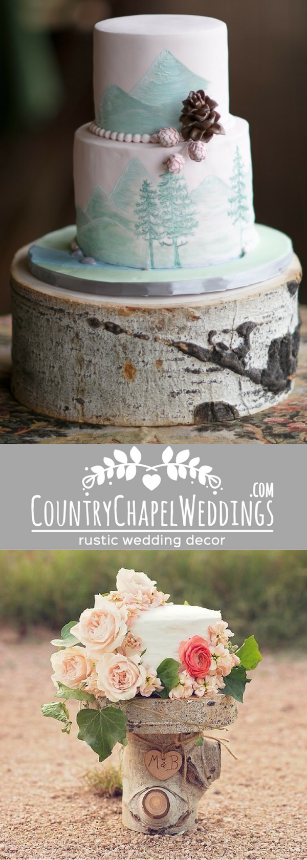Cake stands and wedding decor at Country Chapel Weddings ...