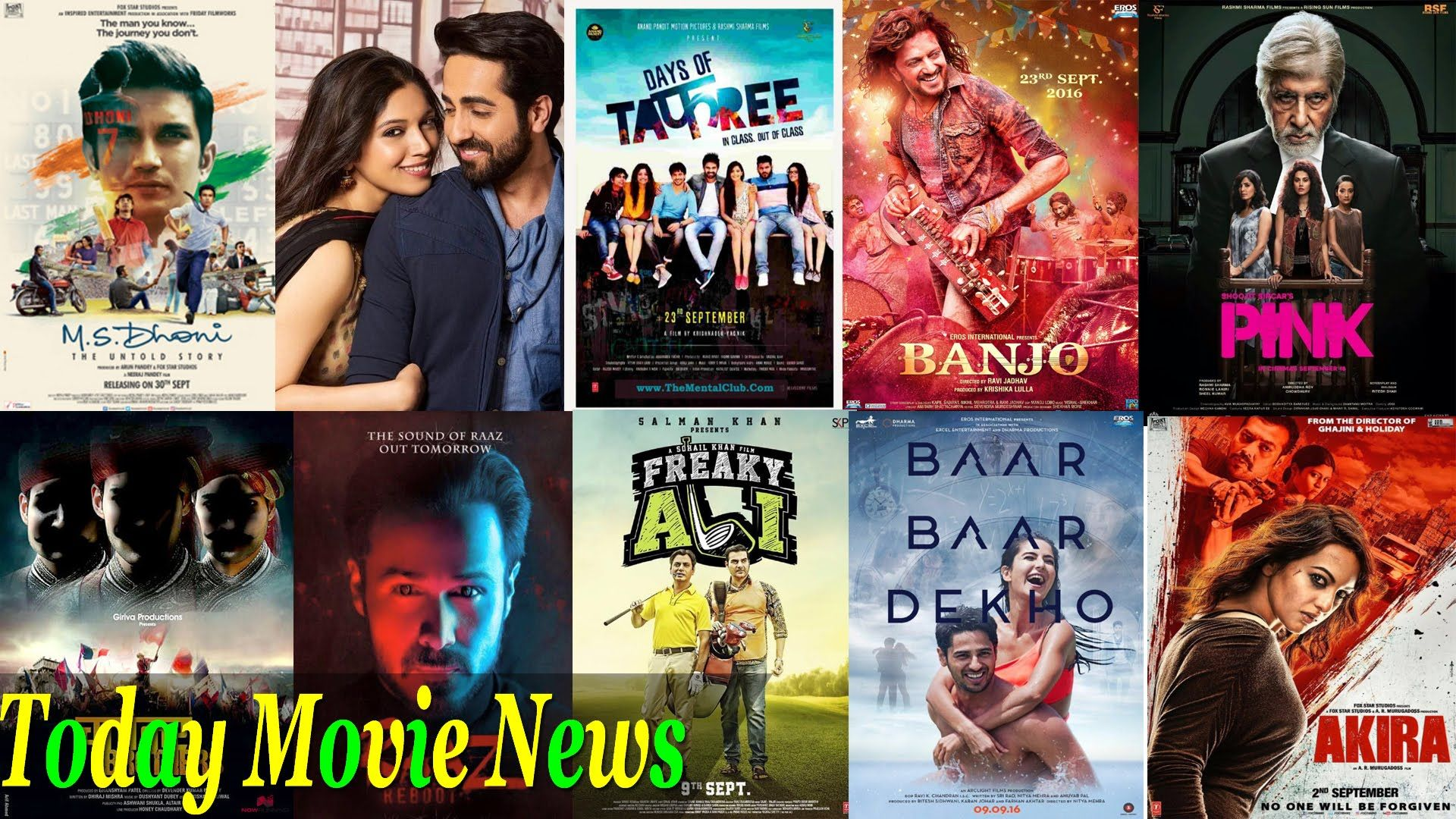 Today Movie News Top 10 Bollywood Movies Release In September 2016 L Today Movies Hindi Movies Bollywood Movies