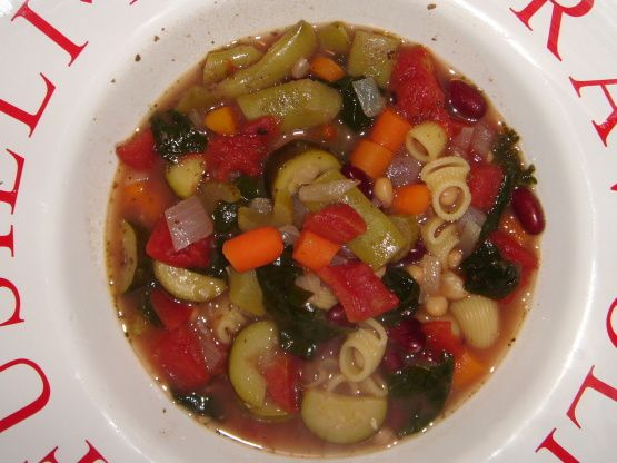 From www.TopSecretRecipes.com Its finally here! What everyones been waiting for! Just in time for winter, this soup is sure to warm your soul with its savory flavor and wonderful aroma. Ive asked many an Olive Garden waiter for this recipe, but none gave it to me in detail. One waiter told me the secret ingredient was to add a little red wine to the stock, but Ill leave that up to you to try.