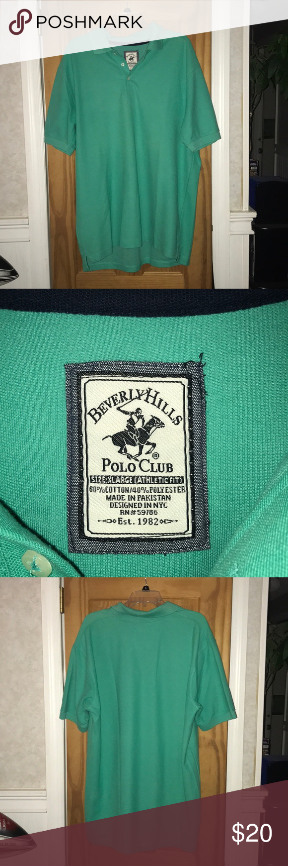 Men's Beverly Hills Polo Club Shirt **PRICE DROP