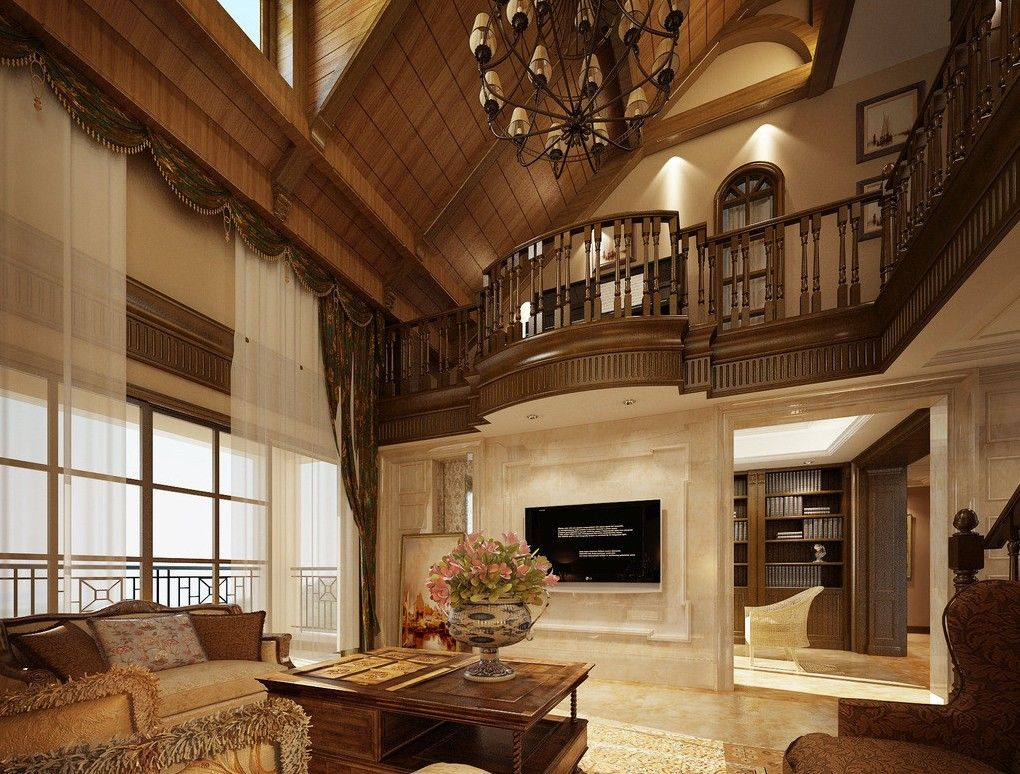 Luxury Villas Wood Ceiling Design Great  Family Room  Favorite Delectable Living Room Wood Ceiling Design Design Ideas