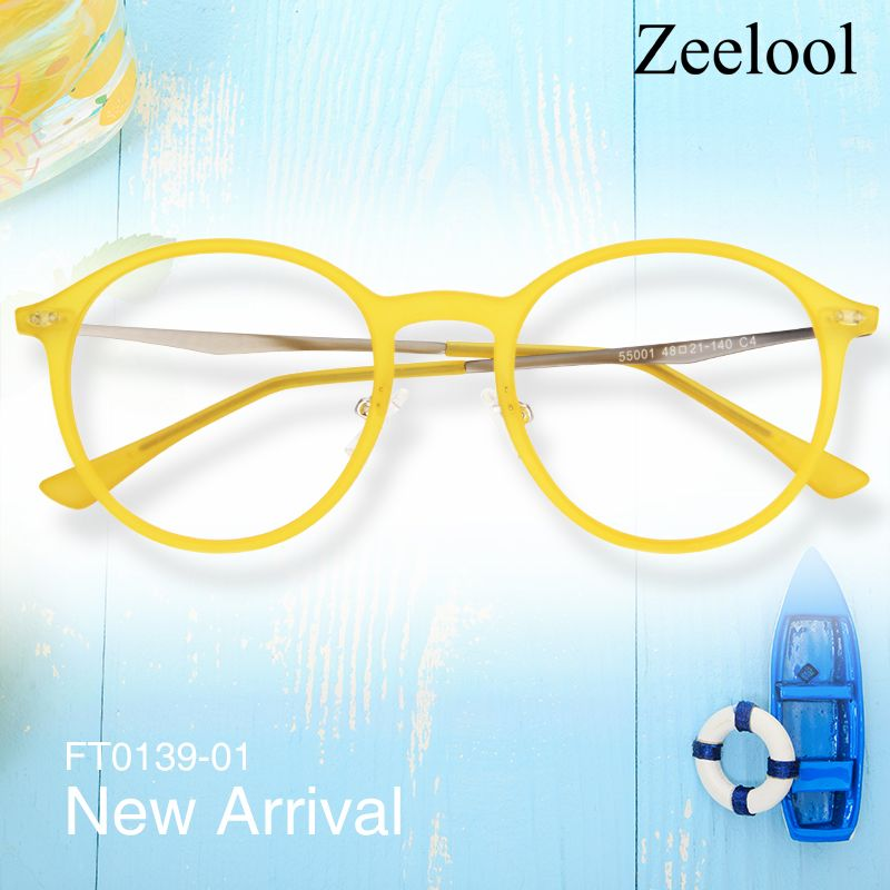 3311608dc9 Dolores Round Gold Glasses FT0139-01