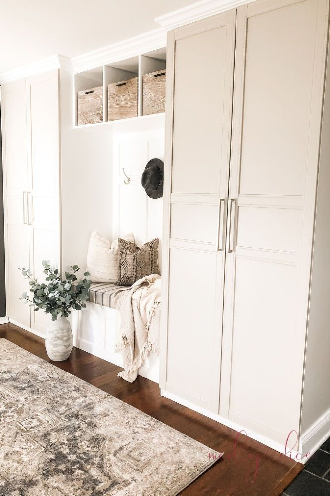 Photo of How to Create a Mudroom Makeover Using an IKEA Hack DIY