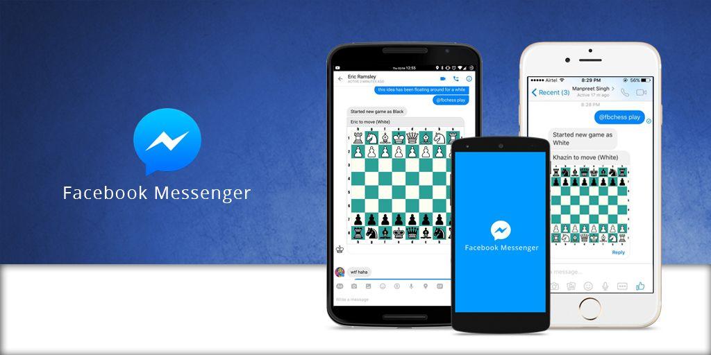 Play when you chat  The Facebook Messenger app has a hidden chess