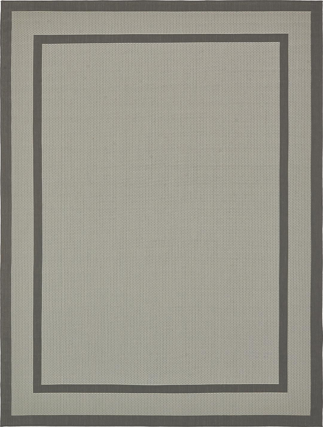 Gray 9' x 12' Outdoor Rug | Area Rugs | eSaleRugs