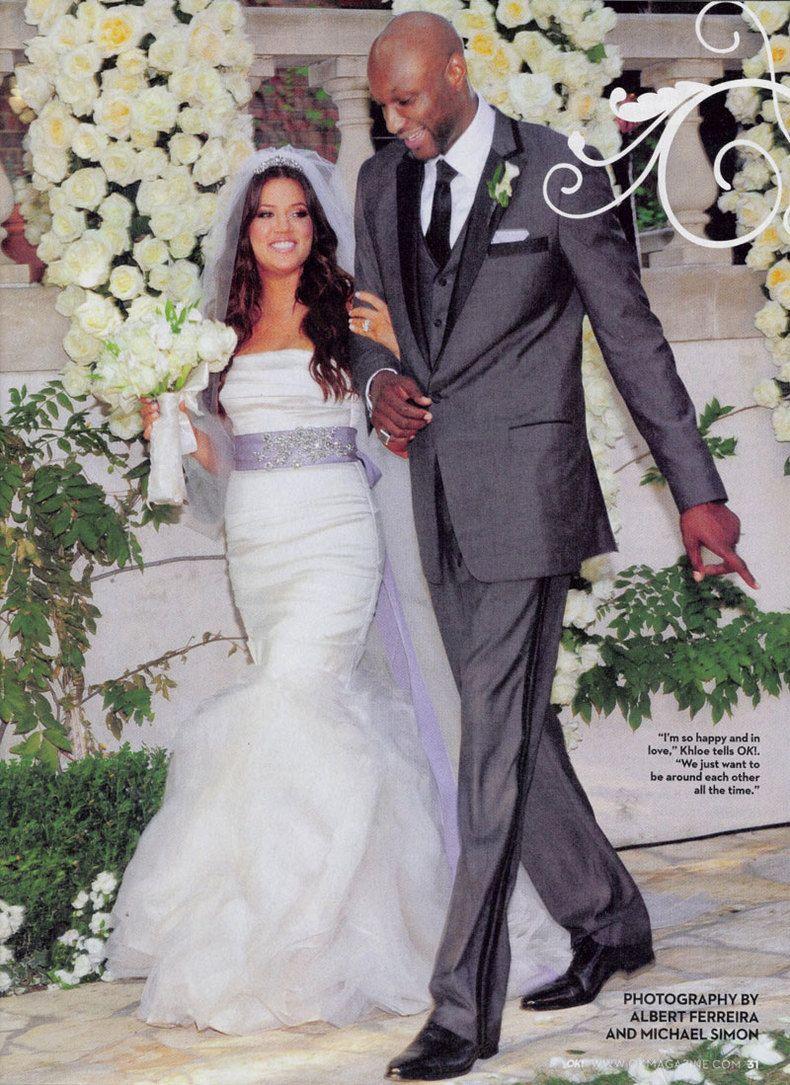 Nllerin dnlerinden kareler lamar odom wedding and wedding wedding dress ombrellifo Image collections