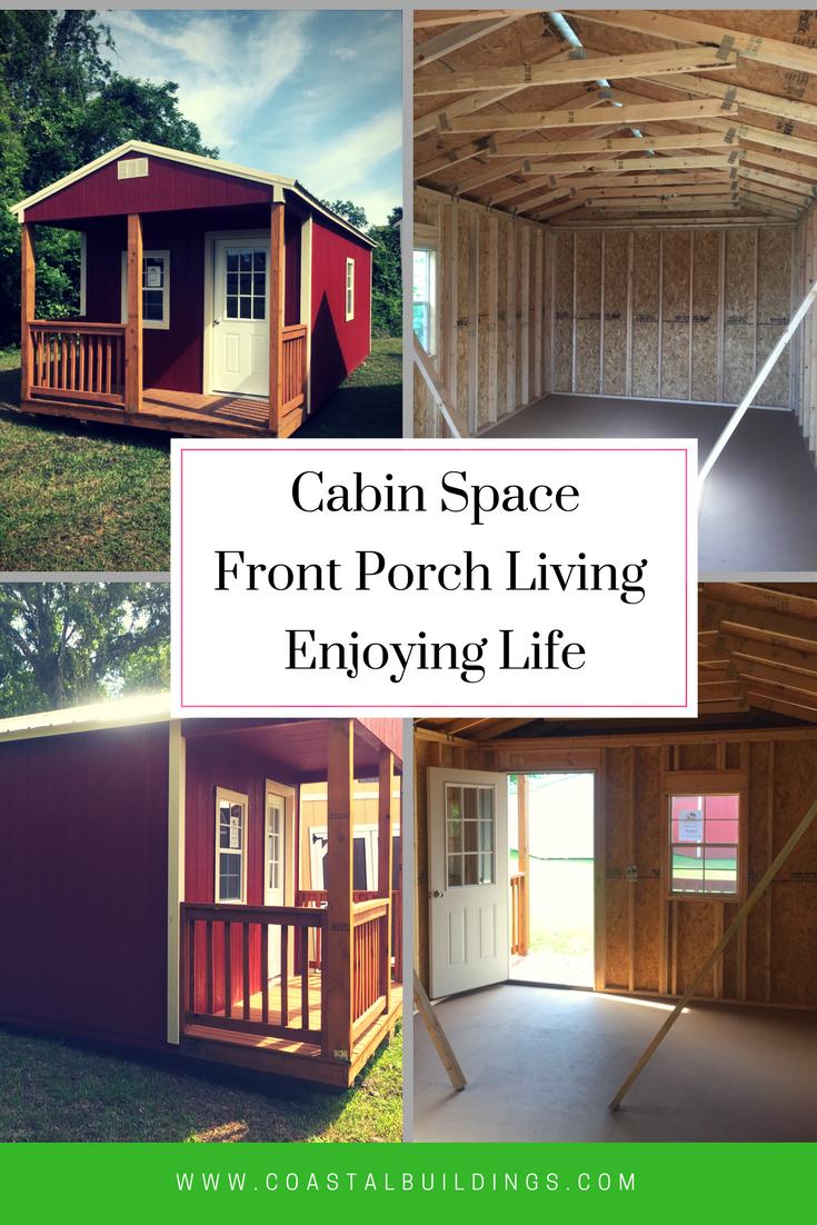 cabin 12x24 perfect backyard office fishing cabin lake house