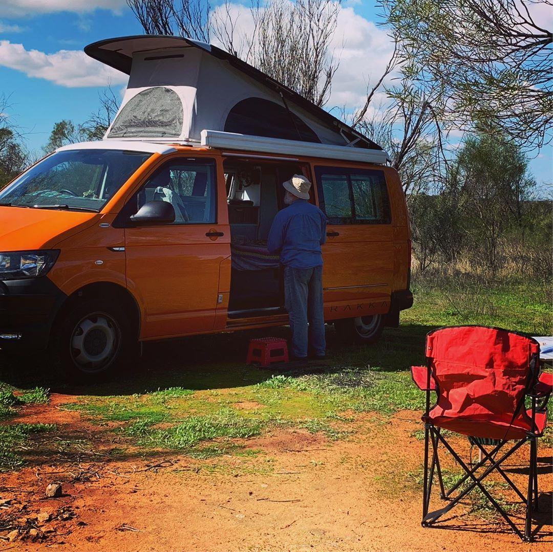 Just One Word Happy Bushcamping Quincy Orange Vwt6 Happy