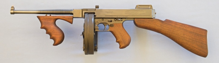Colt 1921 A1 Thompson Machine Gun   weapons 07   Guns, Girl