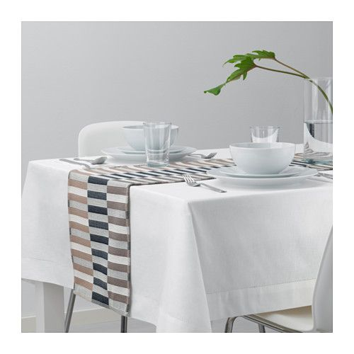 Mittbit Runner Nero Beige Bianco Ikea It Table Runners Ikea Ikea Table