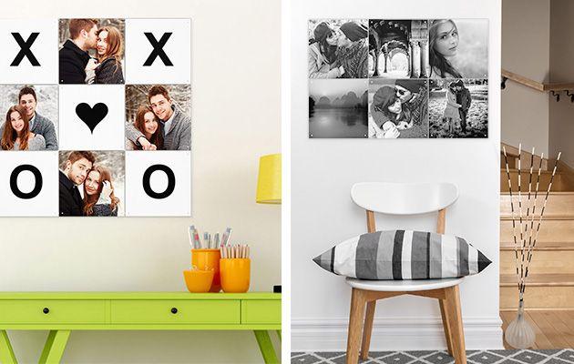 Värikuvat vai mustavalkoiset? Tee oma kuvamosaiikki ifolorilla! Yhdistä omia kuvia ja valmiita kuvio- ja väripaloja. Katso kaikki sisustuskuvat: http://www.ifolor.fi/inspire_kuvamosaiikki_eri_huoneisiin