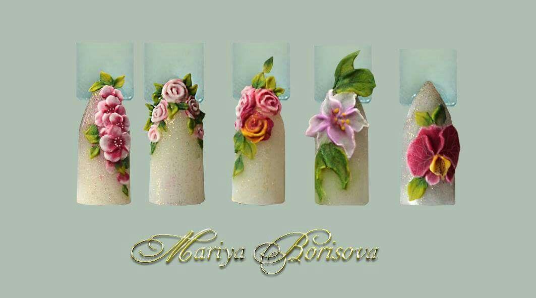 Wow absolutely gorgeous | Fantasy hoa | Pinterest | Arte uñas ...