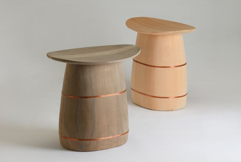 Handcrafted Ki Oke Stool By Shuji Nakagawa For Japan Handmade And Oeo Maison Et Objet Tabouret Design Danois