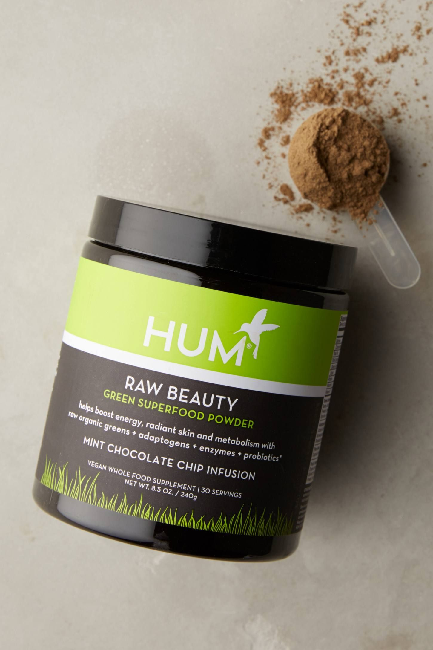 Hum Nutrition Raw Beauty Green Superfood Powder Green Superfood Powder Superfood Powder Green Superfood