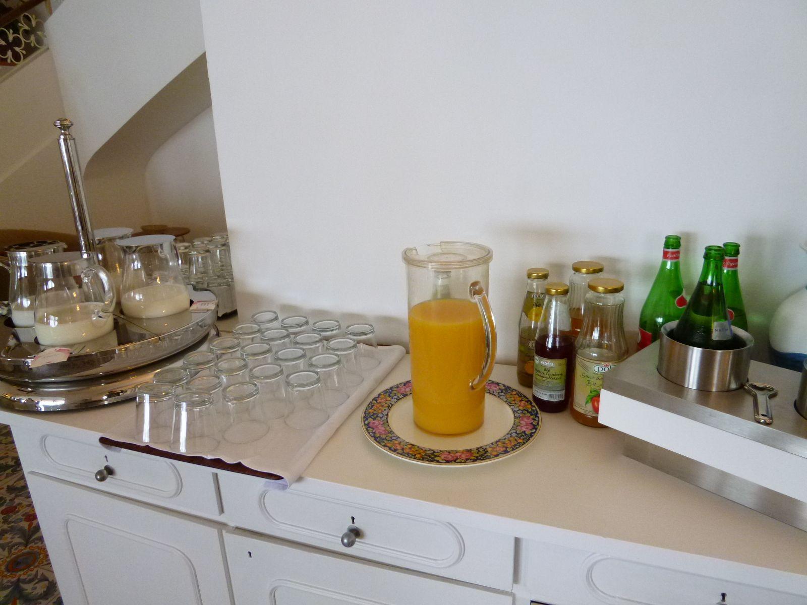 """Prima colazione,  """"Miramare Sea Resort & Spa"""" (Hotel), Sant'Angero, Isola Ischia,Italia (Maggio)"""
