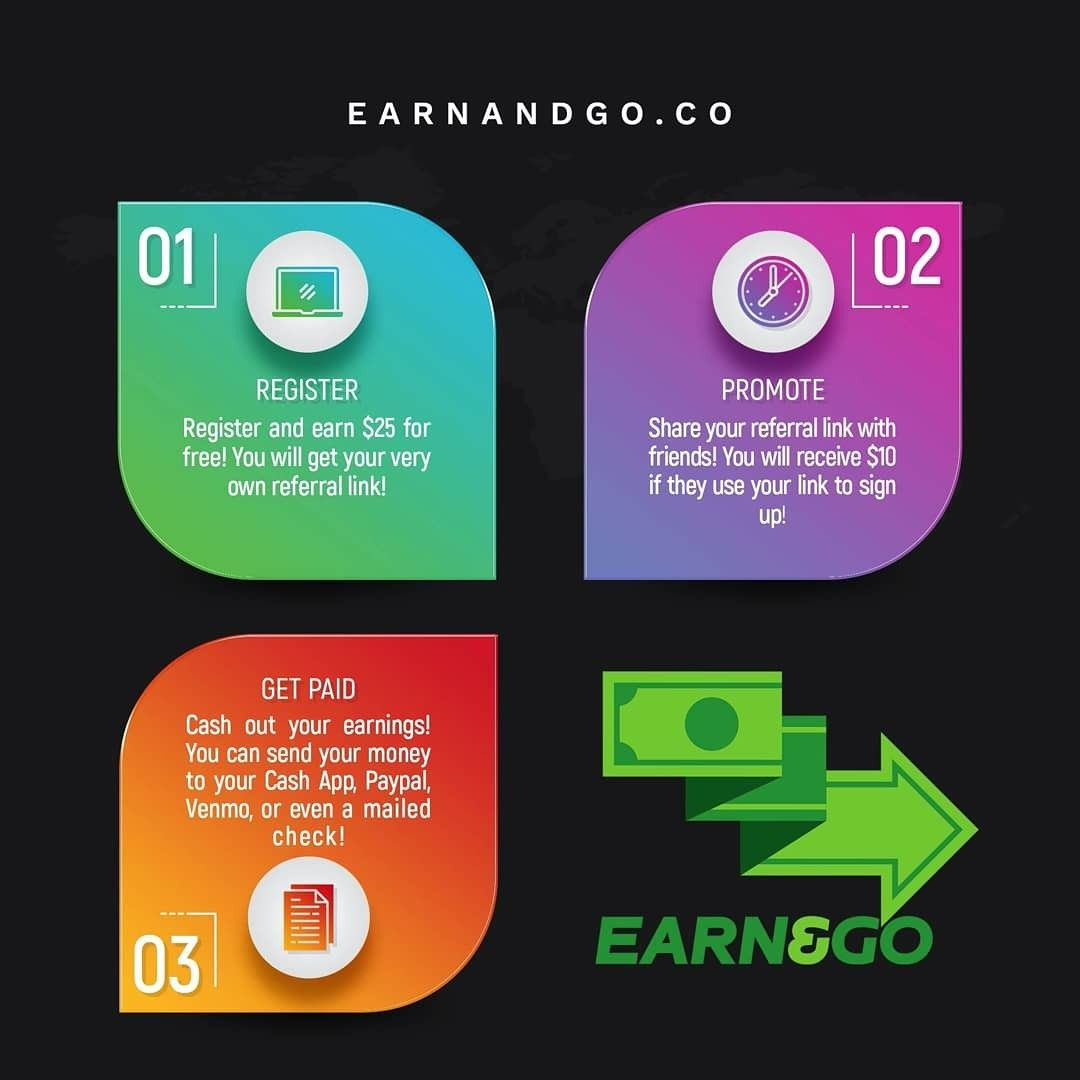 Pin On Earn And Go