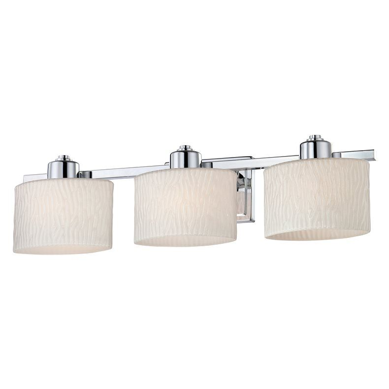 Gallery For Website Shop allen roth Grayson Polished Chrome Bathroom Vanity Light at Lowe u Canada Find our selection of bathroom vanity lighting at the lowest price