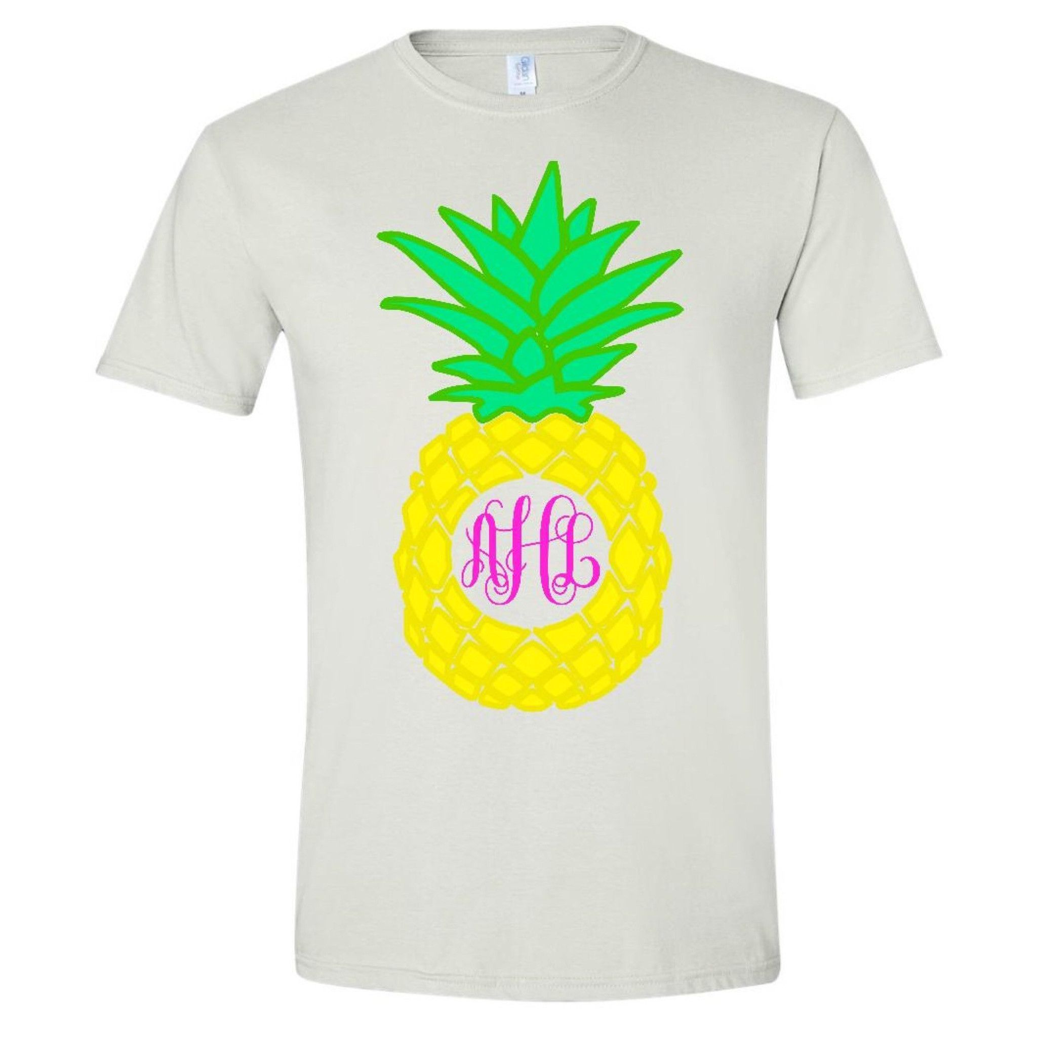 Digitally Printed Pineapple Tee (available in tank or short sleeves)