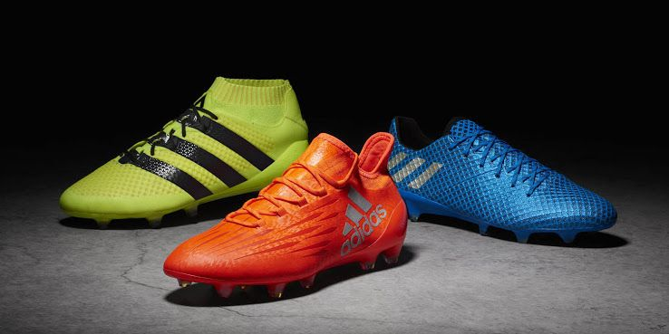 The Adidas Speed of Light 2016-2017 Football Boots Pack brings bright designs to the 2016-2017 season.