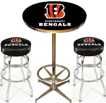 Use this exclusive coupon code pinfive to receive an additional 5 start tab description the cincinnati bengals nfl pub table set includes the cincinnati bengals pub table and two cincinnati bengals bar stools watchthetrailerfo
