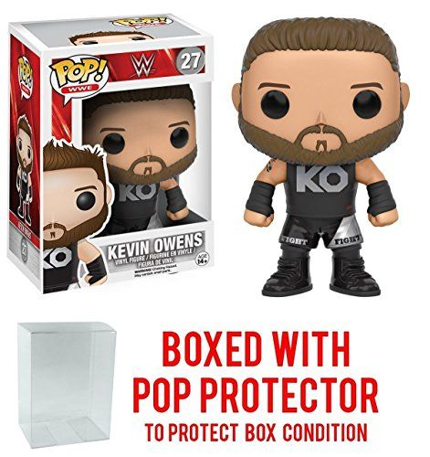 Funko Pop Wwe Kevin Owens Vinyl Figure Bundled With Pop Box Protector Case With Images Wwe Pop Vinyl Wwe Funko Pop Pop Vinyl Figures