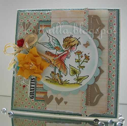 Nilla Cards: lily of the valley